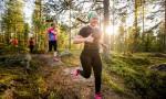 Intoa ja iloa Kuopio Trail Cupin finaalin poluilla. Kuva: Aapo Laiho