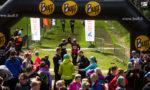 Bodom Trail: Juoksijoita tulossa maaliin - Pirttimäki, Espoo, 14.5.2015