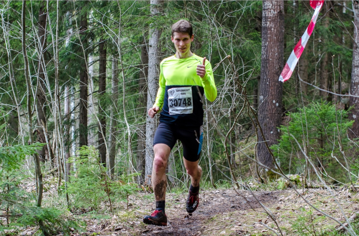 Juha Virtanen piti kovinta vauhtia 30 kilometrin reitillä. Kuva: Tiiti Rossi