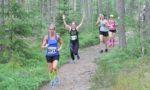 Polkujuoksun riemua Piikkiö Traililla kesäkuussa. Kuva: Antti Suonpää.